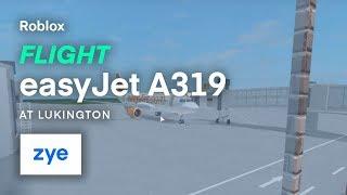 Roblox   easyJet Flight @ Lukington International
