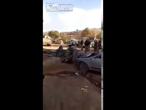 Lebanese Army Mojaw2al having fun in Arsal