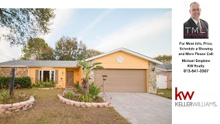 12807 TALLOWOOD DRIVE, RIVERVIEW, FL Presented by Michael Simpkins.
