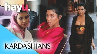 Kim's Yeezy Looks Upstaged By Kourtney? | Season 15 | Keeping Up With The Kardashians