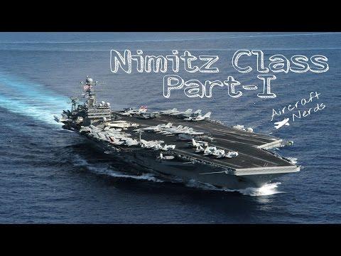 US Navy Aircraft carrier Nimitz Class(Biggest Aircraft Carrier) Part-I - Aircraft Nerds
