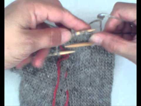 Strickanleitung Islandpullover Unterarm Stilllegen