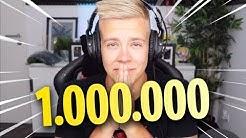 1 MILLION Abonnenten - Danke ❤