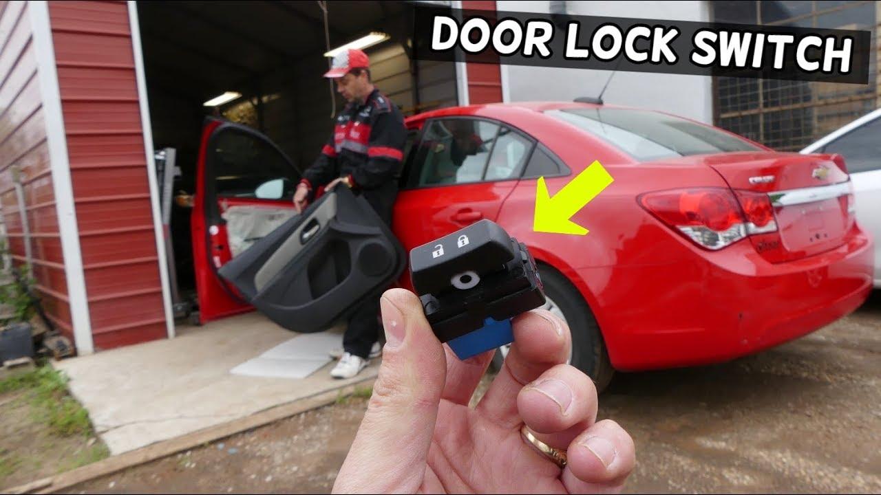 Chevrolet Cruze Central Door Lock Switch Replacement Removal Door