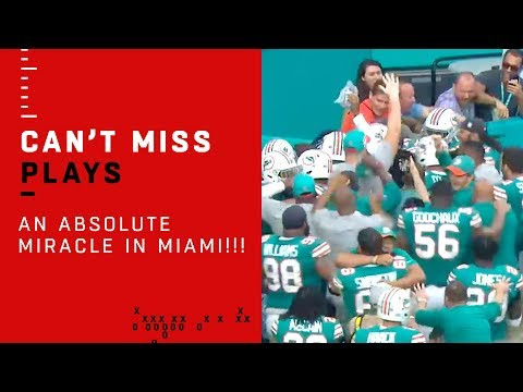 The Bullpen - Miracle In Miami, Dolphins Beat Patriots With An Incredible Walk Off TD
