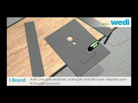 wedi fr training wedi i board pour l habillage des wc en applique youtube. Black Bedroom Furniture Sets. Home Design Ideas