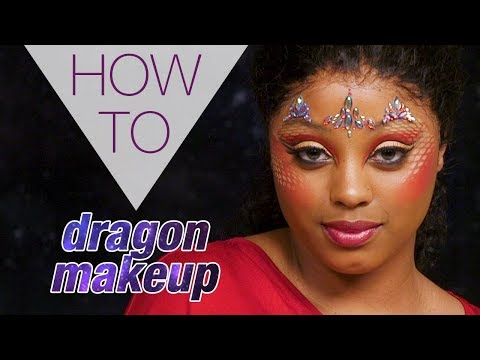 DRAGON LOOK | HALLOWEEN | VINTY NELLIE | HOW TO MAKEUP | Superdrug