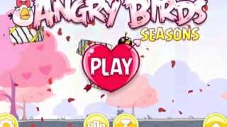 Angry Birds Seasons Mac - Hogs And Kisses Valentines Day Quick Walkthrough !!!