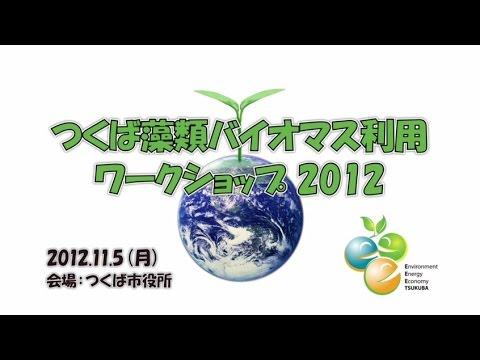 藻類バイオマス利用ワークショップ2012