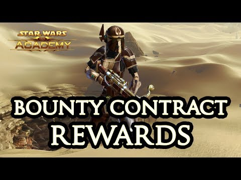 SWTOR Bounty Contract Week Rewards - The Academy