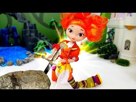 Куклы Сказочный Патруль— Куда делись родители куклы Аленки? —Вгостях уволшебника