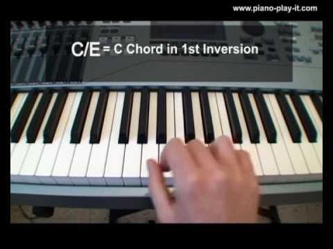 Slash Chords A Free Piano Lesson Youtube