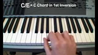 Slash Chords - A Free Piano Lesson
