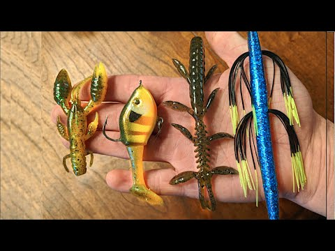 Testing Out Bargain Bin Fishing Lures!/Are They Any Good?