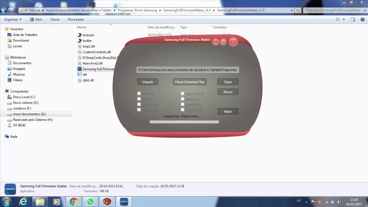 PROGRAMA PARA TRANSFORMAR ROM 4 ARQUIVOS