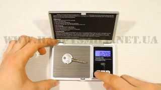 видео Счетные весы CAS CS