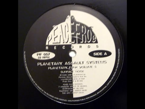 Planetary Assault Systems - Surface Noise [1996] HQ HD