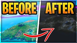 *NEW* How To Play Fortnite In *REAL* Night Time (Insane Fortnite Tricks)