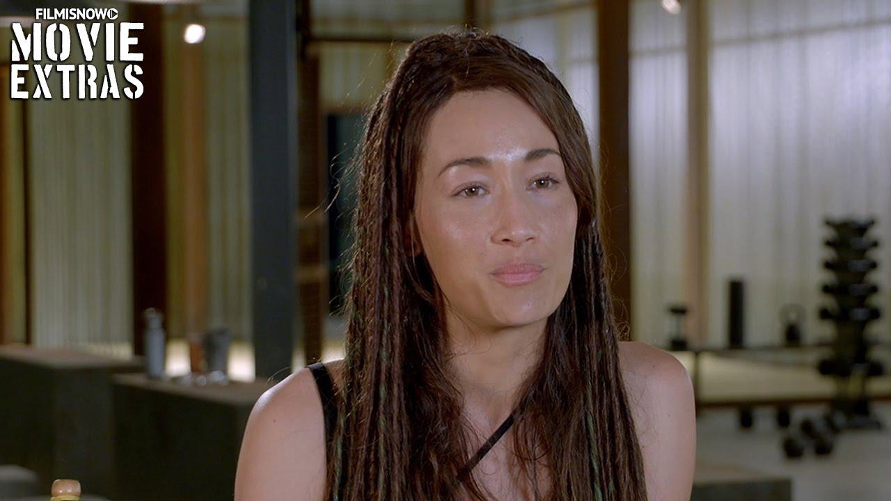 Maggie Q Hairstyle: Maggie Q Ombre Hair The Divergent Series Allegiant Maggie