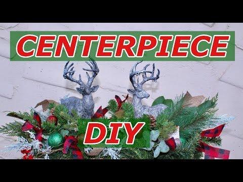Christmas Centerpiece DIY/ Joanna Gaines Inspired  / Magnolia Market Reindeer Centerpiece