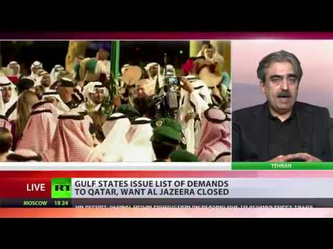 Qatar blockade: Arab states give Doha 10 days to cut ties with Iran & close Turkish base