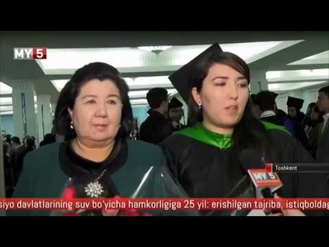 "2017 WIUT Graduation Ceremony reportage by ""MY 5"" TV Channel"