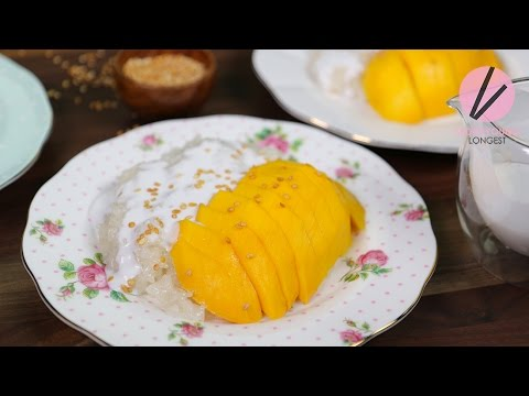 Asian at Home   Mango Sticky Rice