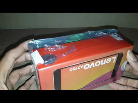 Unboxing Lenovo A7700 Black - Storage 16GB di Video salah sebut jadi 64GB he..he..
