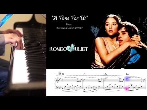 A Time For Us  Romeo & Juliet Piano solo