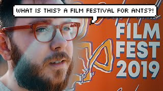 i went to the smallest film festival in the country.