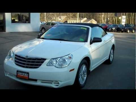 Best Priced Used 2009 Sebring Convertible Southern Maine Motors Saco Maine 04072 Bangor Portland