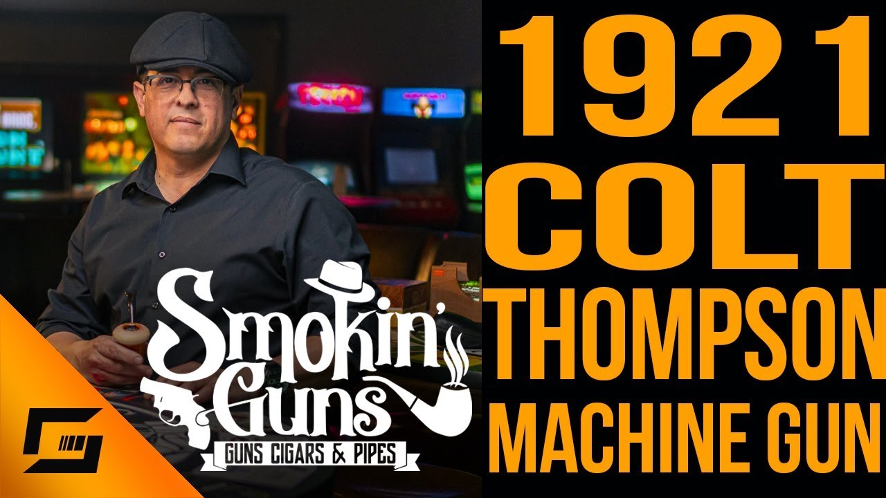 1921 Colt Thompson Submachine Gun and the Big Johnny by Oscar | Smokin' Guns