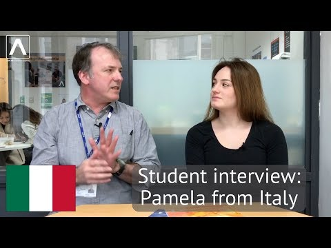 Student Interview: Pamela from Italy