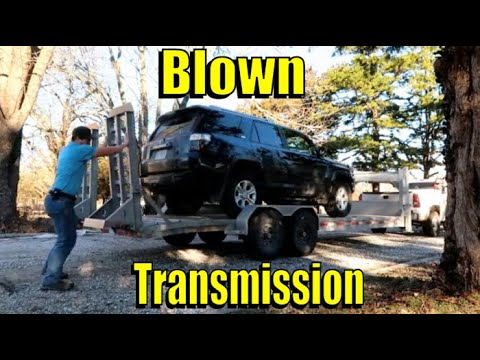 2016 Toyota 4Runner Auto Trans Replacement
