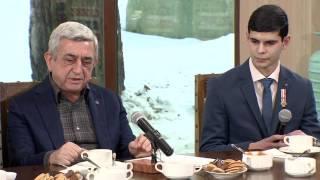 Հարց ու պատասխան Սերժ Սարգսյանի հետ