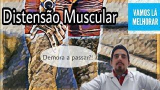 Muscular coxa da entorse de tratamento