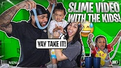 CJ & LEGEND MAKE SLIME..🤣
