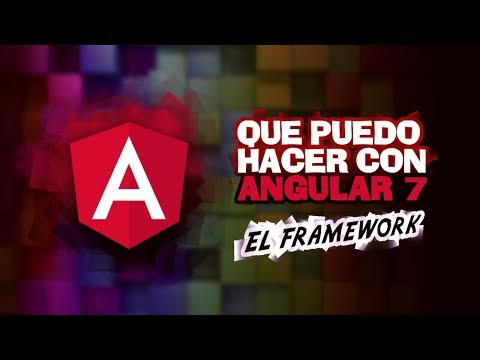 ¿QUE SE PUEDE HACER CON ANGULAR? - ANALIZANDO FRAMEWORKS thumbnail