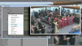 Creating Depth of Field using Rack Focus in Avid Media Composer