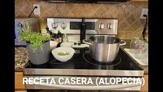 ALOPECIA - PERDIDA DE CABELLO - CUERO CABELLUDO SENSIBLE - PREPARACION MAGISTRAL EN CASA 😉  REMEDIO