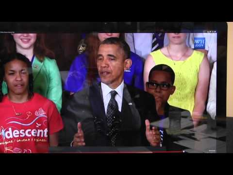 President Obama recognizes Resaca Middle School Students
