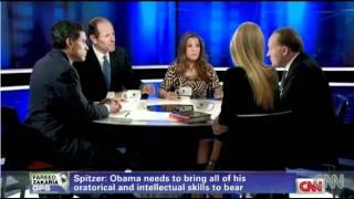 Eliot Sptizer takes on Ann Coulter