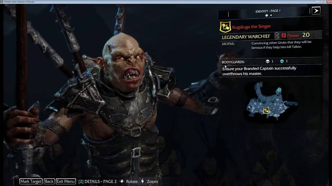It's all about the Name Brand Army - Shadows of Mordor 100% Lets Play 44 - YouTube