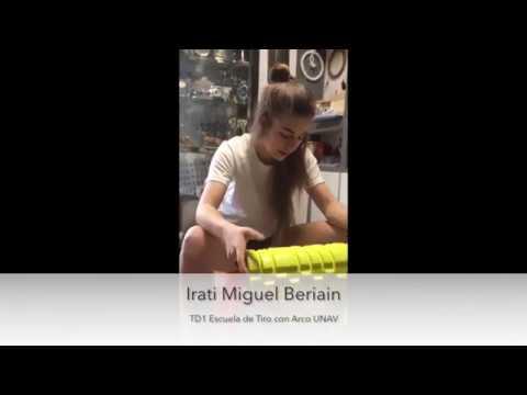 Preparación Física Tiro con Arco- Irati Miguel Beriain