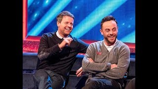 Ant McPartlin scolds Declan Donnelly for swearing on TV