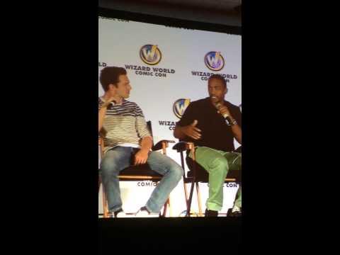 Sebastian Stan & Anthony Mackie - Chicago Comic Con - Panel