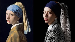 Photographing Famous Paintings (Vermeer, Caravaggio, Perez)