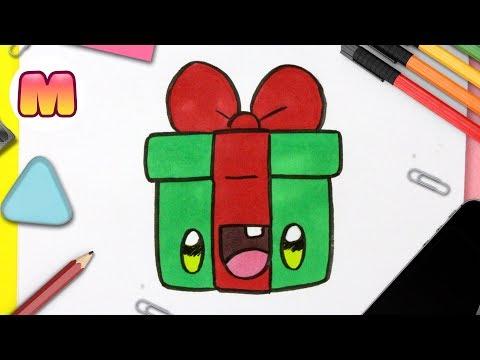 como-dibujar-un-regalo-de-navidad-kawaii---dibujos-kawaii-faciles---dibujos-para-navidad