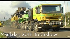 Heavy Haulage Trucks, Special Transport, Dutch Transport Companies, Mackdag 2018 Truckshow