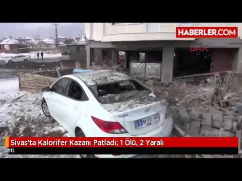 Sivas'ta Kalorifer Kazanı Patladı: 1...